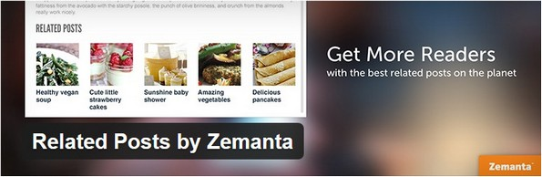 Related Posts by Zemanta plugin for contextual content on posts