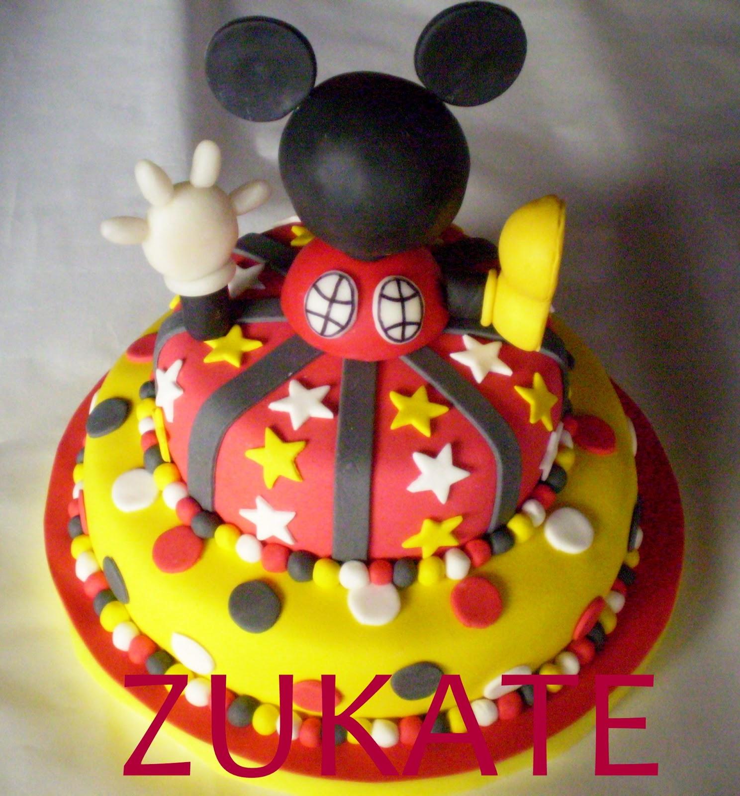 Torta Mickey Mouse Club House Zukate