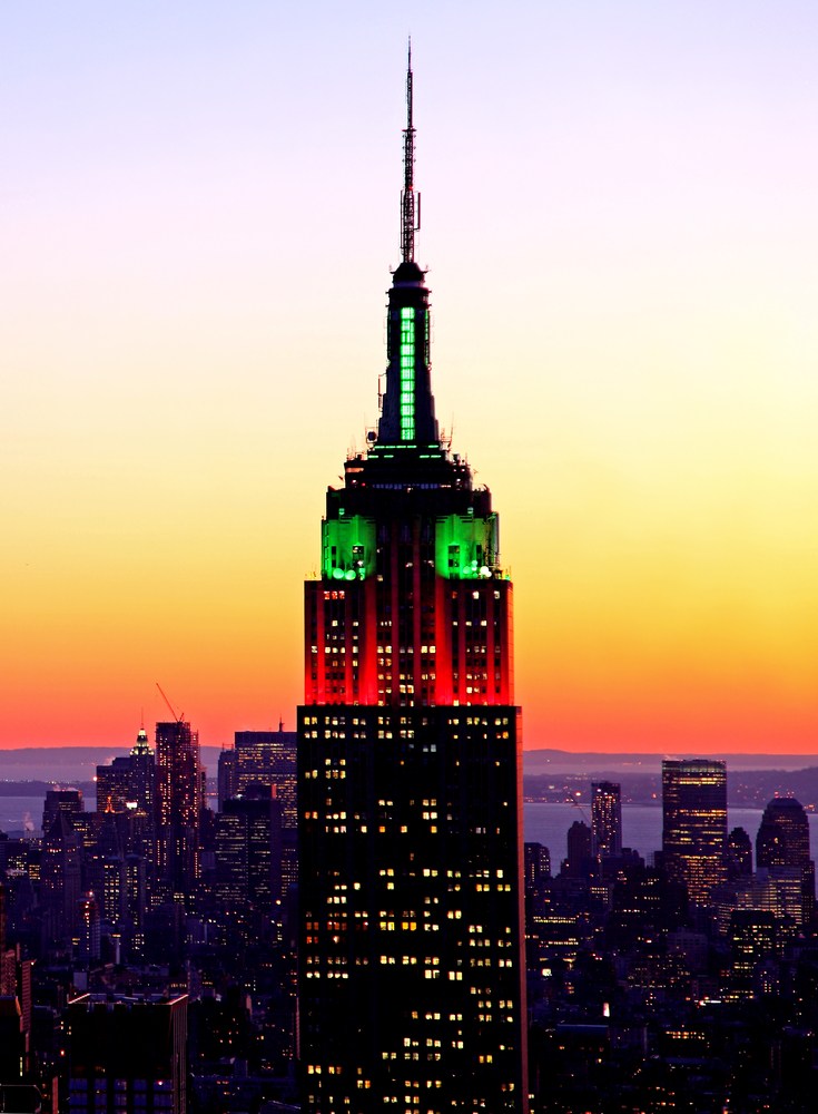 art now and then the empire state building. Black Bedroom Furniture Sets. Home Design Ideas