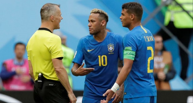 Mondial 2018 : Thiago Silva insulté par Neymar