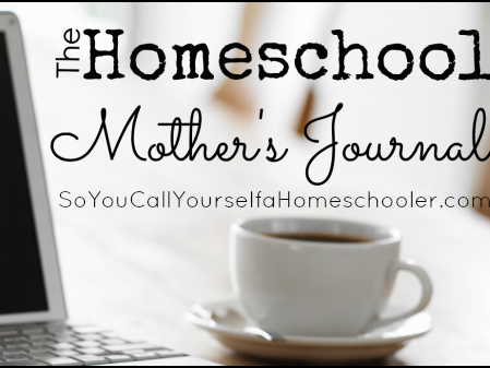 Homeschool Mother's Journal: November 30th, 2013