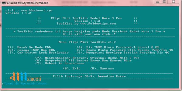 menu toolkit