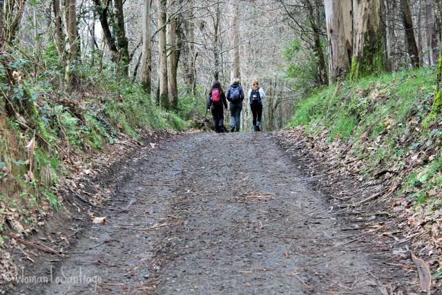 foto peregrinas en el camino