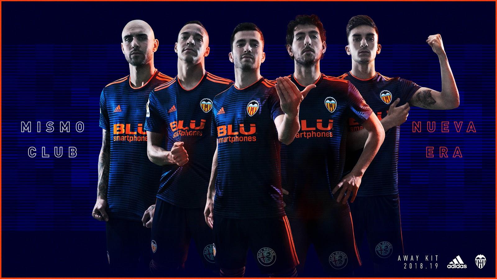 timeless design eb324 825e1 Valencia Adidas 2018-19 HOME JERSEY SHIRT SOCCER FUSSBALL REPLICA JERSEY  FOOTBALL BNWT TOP -