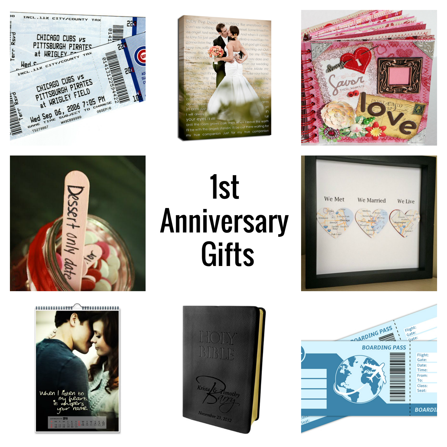 Traditional 1st Wedding Anniversary Gifts: Christina Lea Loves : The Paper Anniversary: Traditional