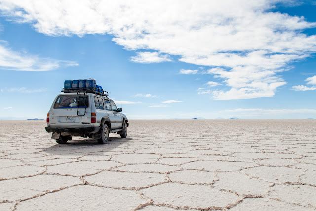 Viagem de carro em San Pedro de Atacama
