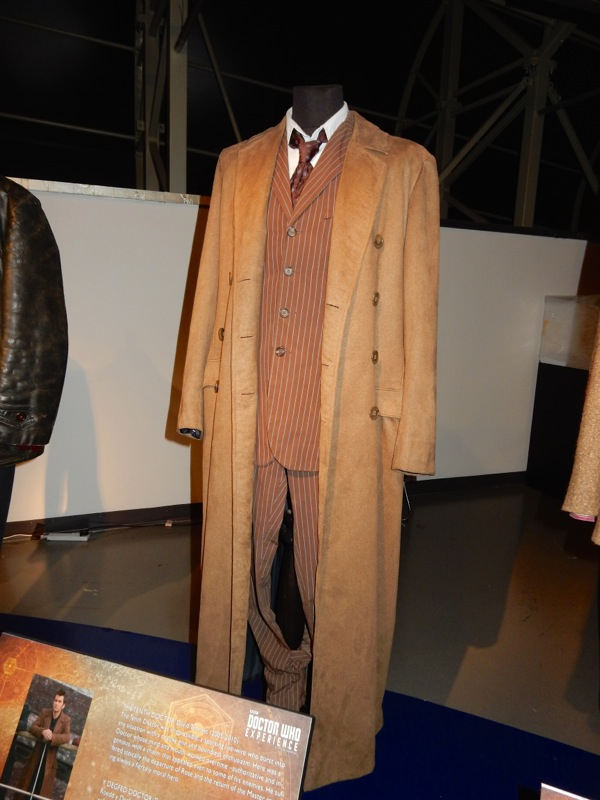 Tenth Doctor Who signature costume