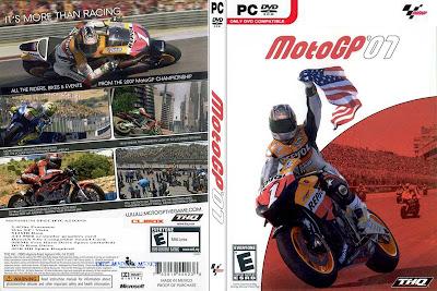 Jogo MotoGP 07 PC DVD Capa