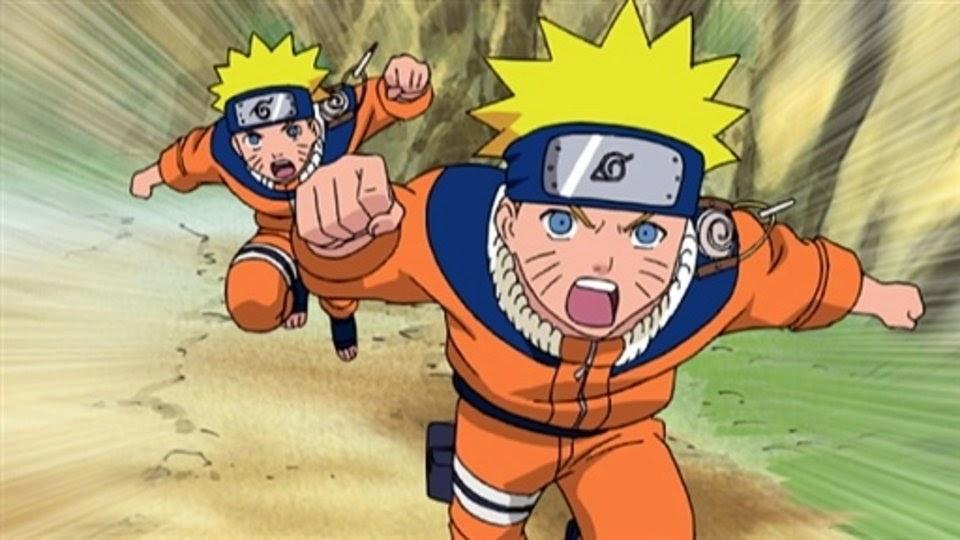Naruto, clones de sombra
