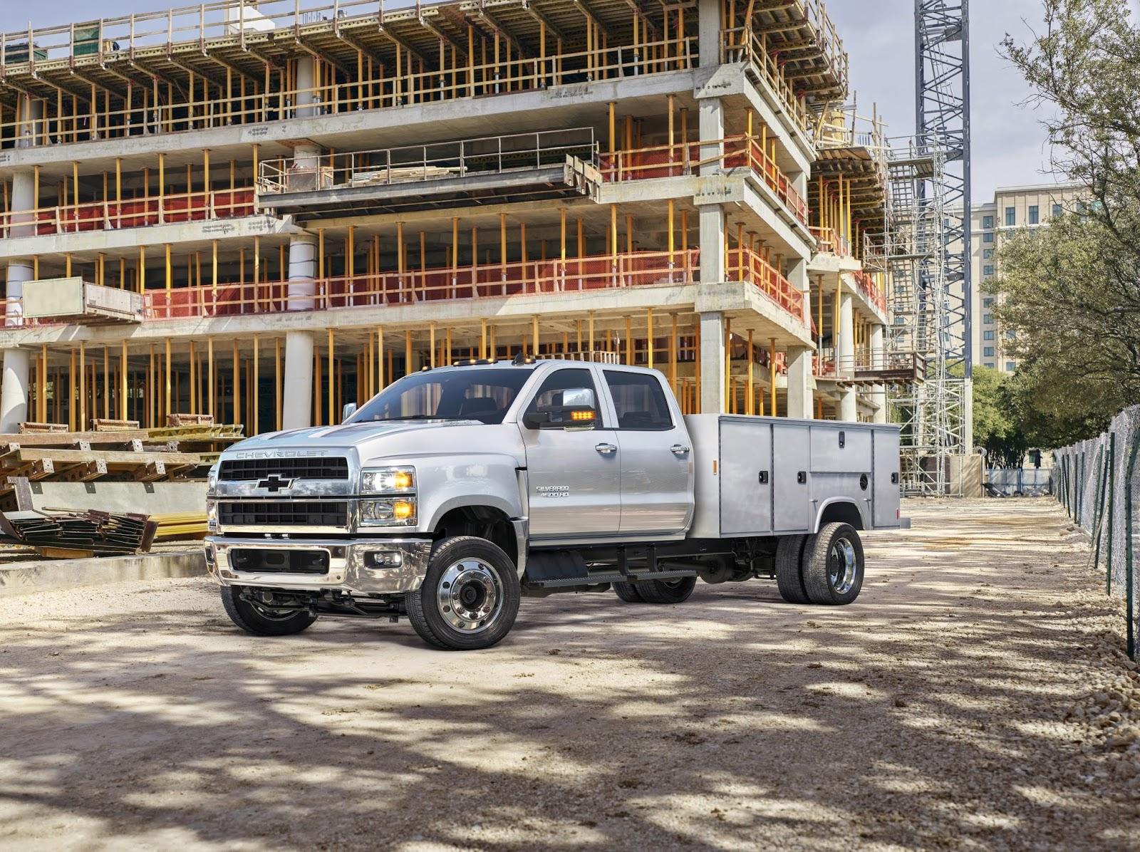 Chevrolet presenta el 2019 Silverado 4500HD, 5500HD y ...