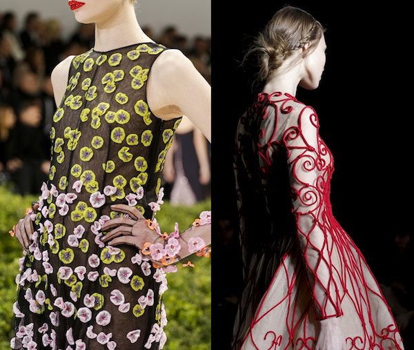 Paris Haute Couture Spring Summer 2013 - Dior, Valentino