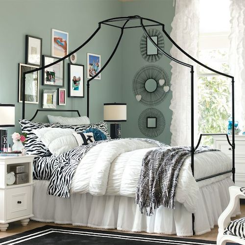 Copy Cat Chic Pottery Barn Teen Maison Canopy Bed