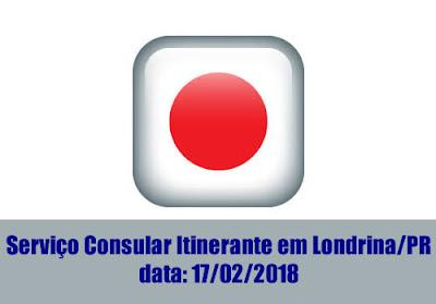 Serviço Consular Itinerante em Londrina