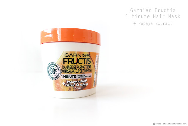 Christina Truong - Best of 2018: Garnier Fructis 1 Minute Hair Mask