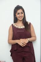 Nikki Galrani in a Brown Shining Sleeveless Gown at Nakshatram music launch ~  Exclusive 026.JPG