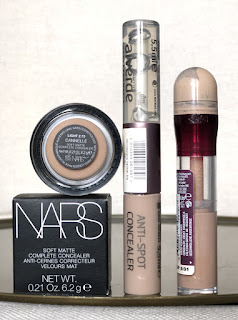 Maybelline Fit Me, Löscher, Urban Decay Naked Skin Concealer