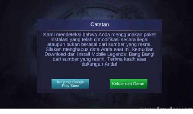 Script Anti Detect Anti Ban Mobile Legends Patch Terbaru
