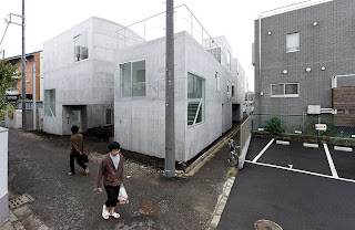 Okurayama Apartments de SANAA