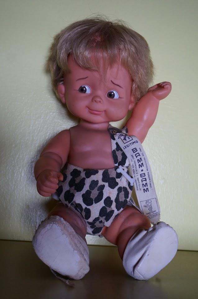 une poupée Bamm Bamm de 1964 des Flintstones   60s Hanna Barbera Bamm Bamm doll
