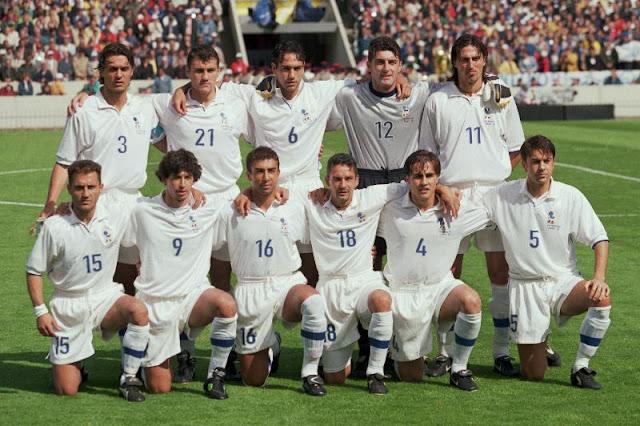 Formación de Italia ante Chile, Copa del Mundo Francia 1998, 11 de junio
