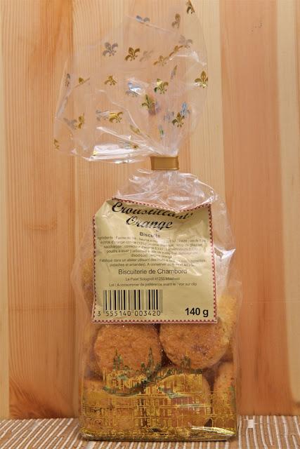 Biscuiterie de Chambord - Croustillant orange - Dessert - Orange - Biscuit - Gâteau - Food