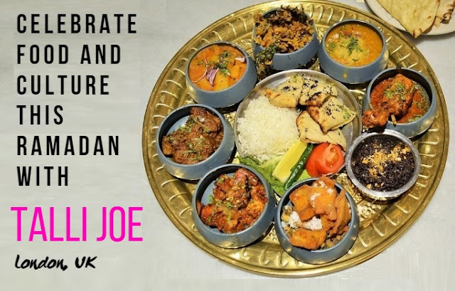Ramadan sharing platter Talli Joe London