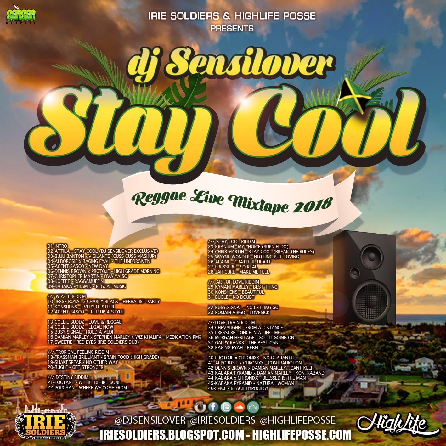 IRIE SOLDIERS DANCEHALL REGGAE MIXTAPES: December 2018