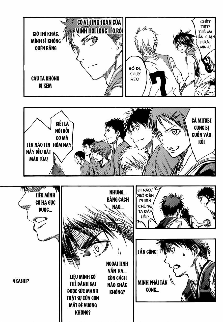 Kuroko No Basket chap 235 trang 11