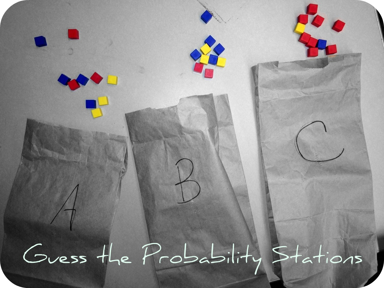 A Middle School Survival Guide Guess The Probability Stations