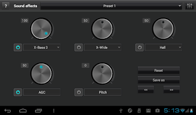 JetAudio Music Player + Equalizer Plus Android