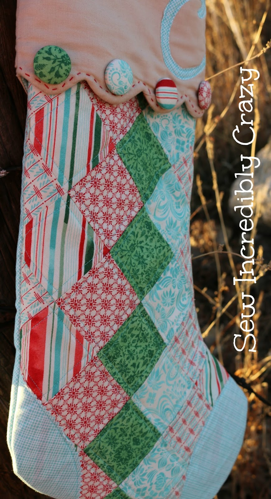 Sew Incredibly Crazy My First Christmas Stocking