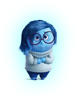 inside out sadness-ters yuz uzuntu