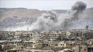 Serangan Rezim Syiah Suriah Bunuh Tiga Warga Sipil di Timur Damaskus