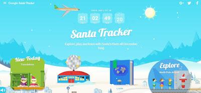 Google อัพเดท Google Santa Tracker รับเทศกาล Christmas 2016