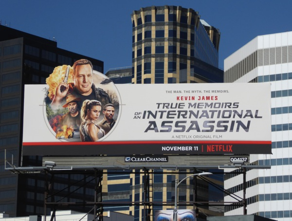 True Memoirs International Assassin movie billboard