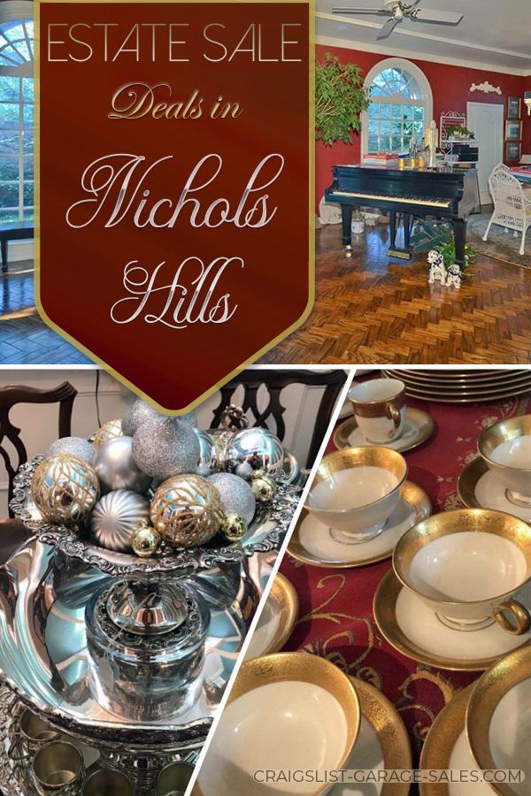 Estate Sale deals in Nichols Hills (Oklahoma City)