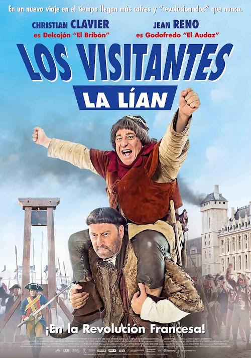 Cartel: Los visitantes la lían: En la Revolución Francesa (2016)