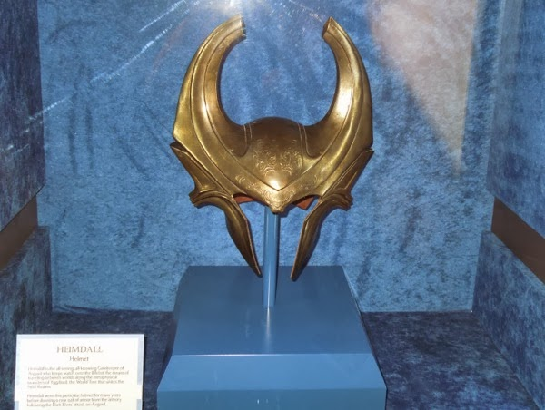 Heimdall helmet Thor Dark World