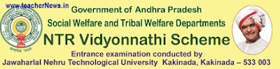 NTR Vidyonnathi Scheme 2018 Online Apply, Syllabus, Exam Pattern for SC,ST Students Civils Coaching