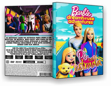CAPA DVD – Barbie Pé Na Estrada – ISO