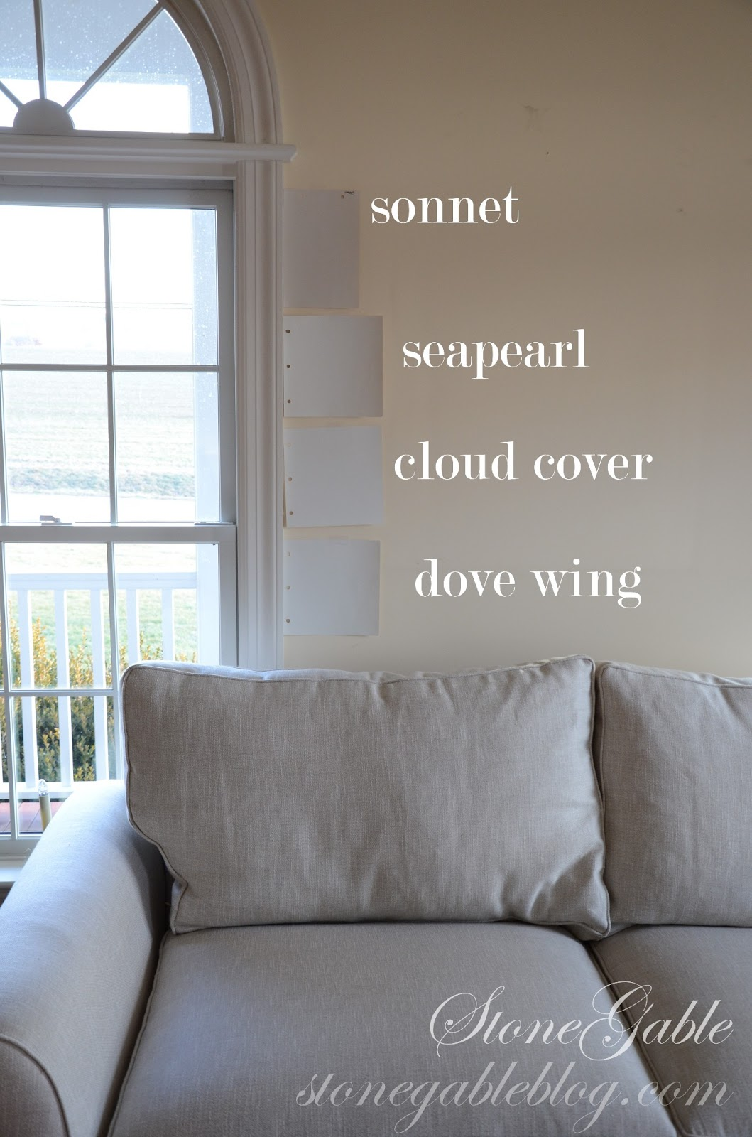 Gray Living Room Walls I M In Here Stonegable