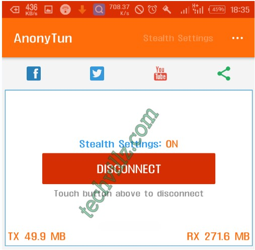 New Settings For Glo 0.0k Unlimited Free Browsing With Anonytun VPN
