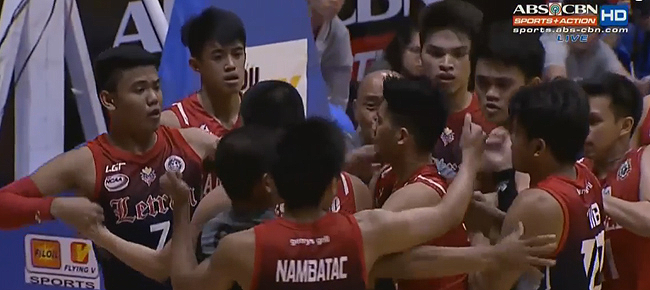 San Beda, Letran in near brawl (VIDEO)