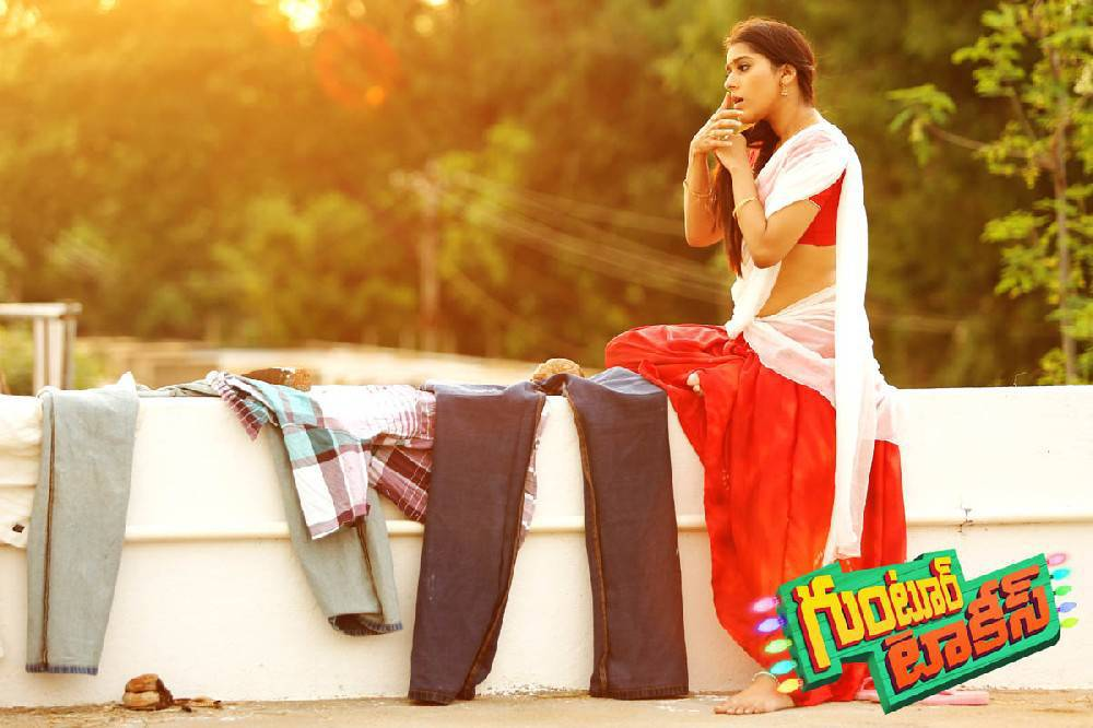 Rashmi Gautam Stills From Guntur Talkies Movie