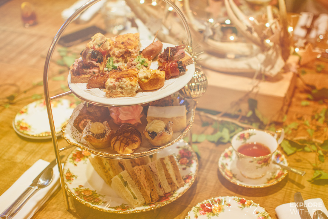 The Angel Hotel Festive Afternoon Tea