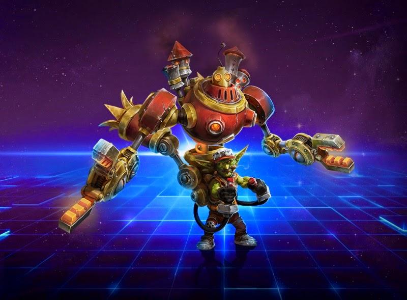 Heroes of The Storm łatwe postacie na start do gry Gazlow