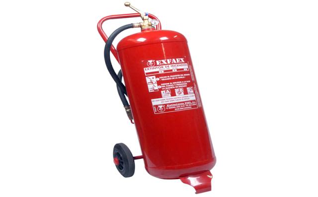 extintores en paracuellos, exfire,