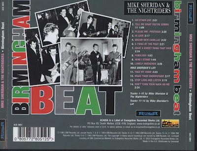 Mike Sheridan & Nightriders -  The Birmingham Beat