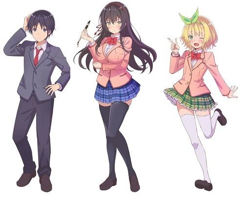 Kawaikereba Hentai demo Suki ni Natte Kuremasu ka? Anime Character Designs