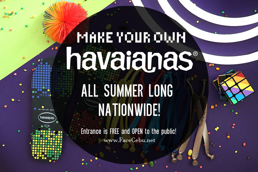 ee684f43a7fb MYOH2017   Top 5 Reasons Why Make Your Own Havaianas Is Cooler This ...